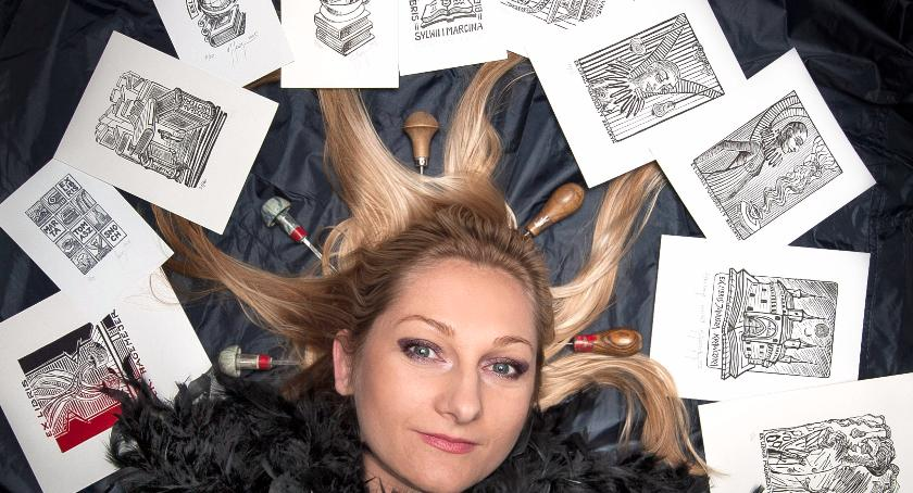 plastyka, Małgorzata Seweryn Warszawskiej Galerii Ekslibrisu! - zdjęcie, fotografia