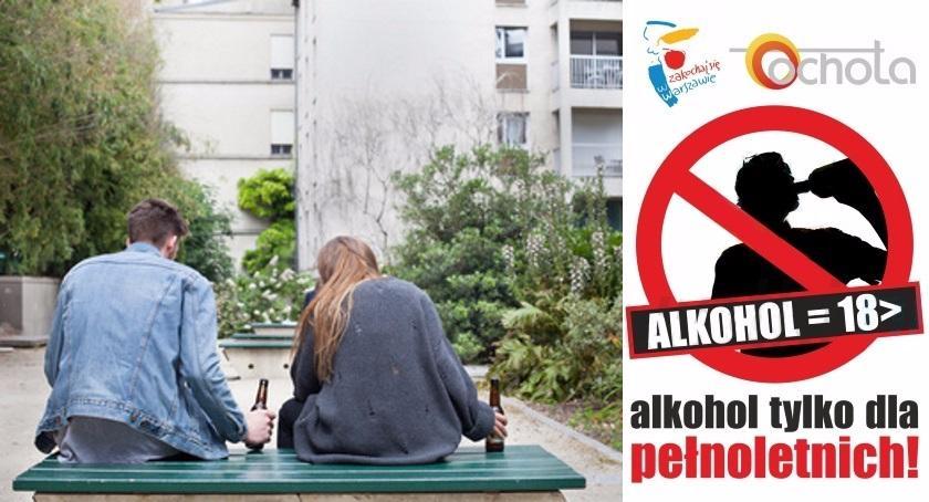 Handel i usługi, Sprzedaż alkoholu nieletnim przestępstwem - zdjęcie, fotografia