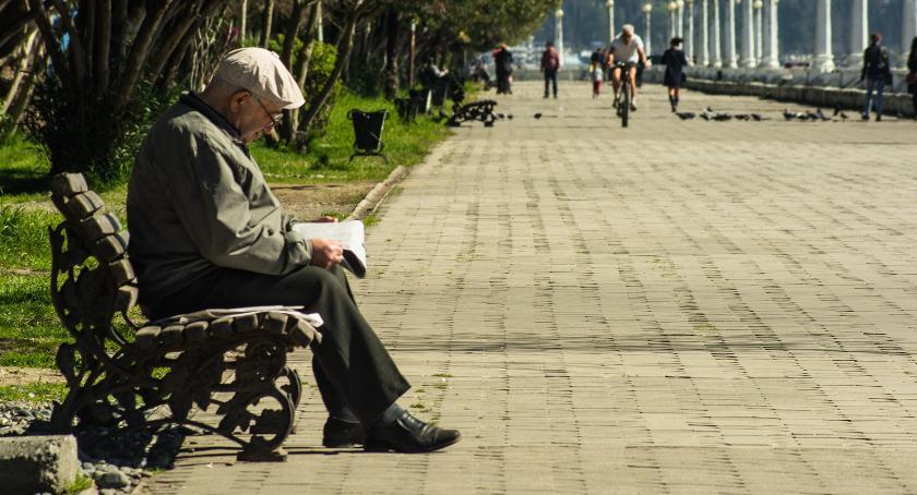 seniorzy, Zapraszamy seniorów! - zdjęcie, fotografia