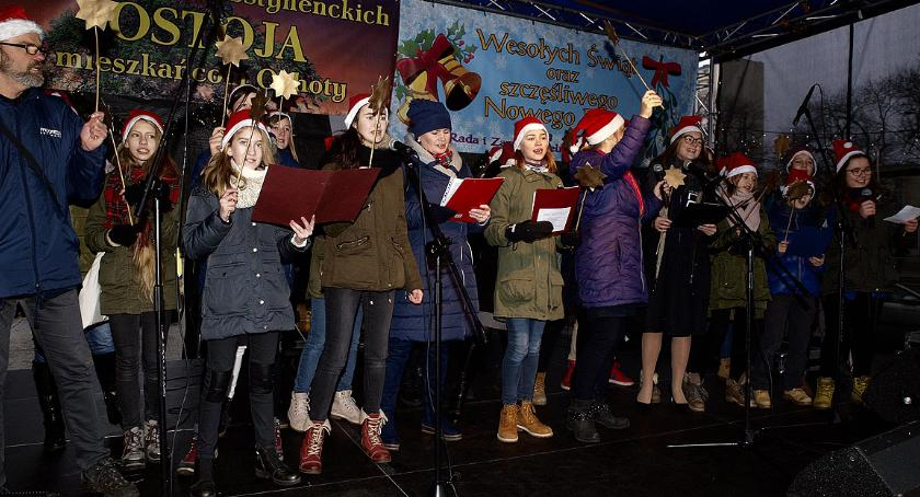 imprezy plenerowe, Opłatek Zieleniaku Świąteczne wesoło pysznie! - zdjęcie, fotografia