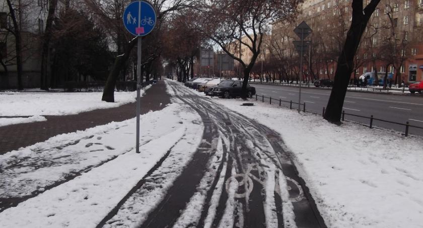 rowery, Ciężkie czasy rowerzystów - zdjęcie, fotografia