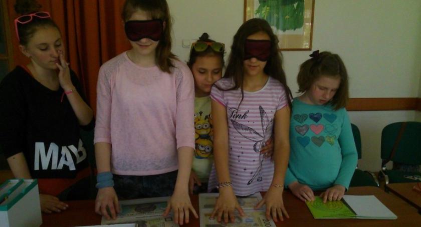 Wizyta w Zakładzie dla Ociemniałych w Laskach