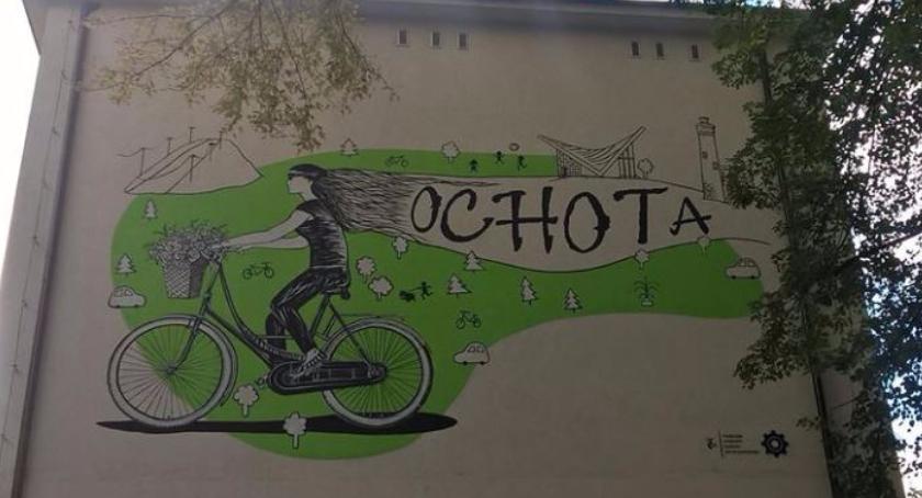 Nowy mural na Ochocie