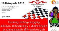 Dzień Niepodległości uczcij grą w warcaby lub szachy