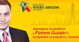 Spotkanie z Piotrem Guziałem 4.11 godz. 18.00 w OKO