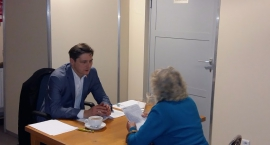 Kolejne spotkanie z burmistrzem Wąsowiczem